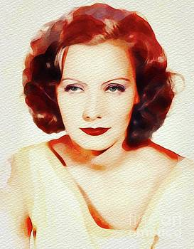 John Springfield - Greta Garbo, Vintage Movie Star