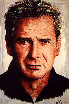 Harrison Ford  by Andrew Read