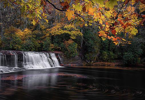 Hooker Falls by Reid Northrup