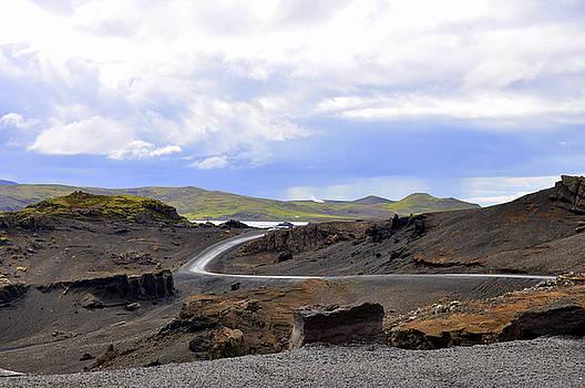 Iceland Landscape by Ambika Jhunjhunwala