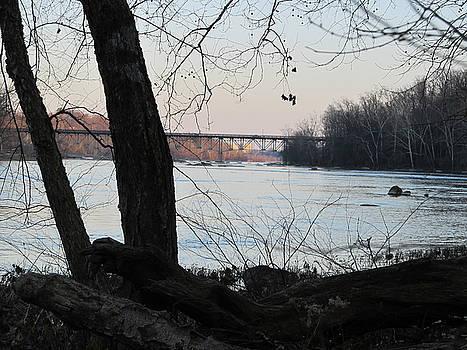 James River Richmond Virginia by Digital Art Cafe