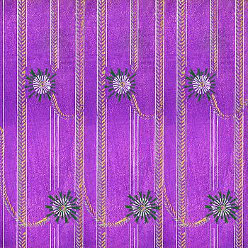Japanese textile from Shima-Shima by Furuya Korin