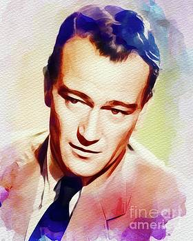 John Springfield - John Wayne, Vintage Movie Star