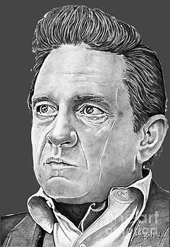 Johnny Cash by Bill Richards