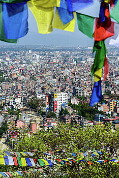 Kathmandu city in Nepal by Dutourdumonde Photography