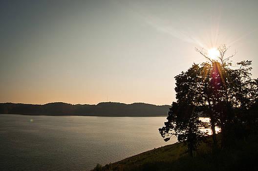 Lake Cumberland Sunset by Amber Flowers