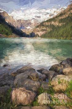 Lake Louise by Patricia Hofmeester