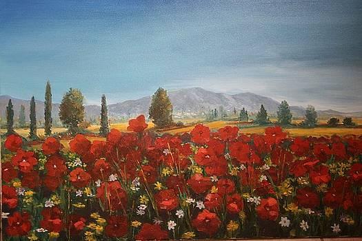 Landscape by Ananta Acharya