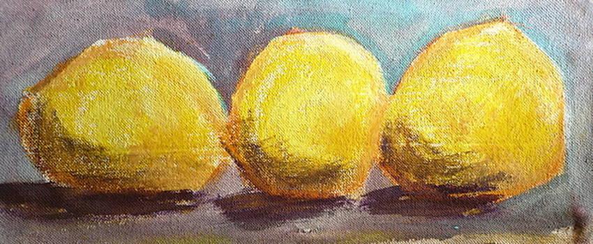 3 Lemons Study by Jane Clatworthy