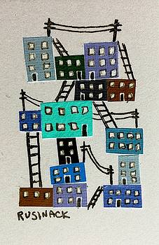 Little City by Sherry Rusinack