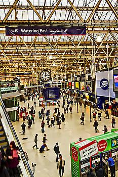 David French - London Waterloo Station