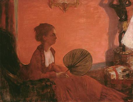 Edgar Degas - Madame Camus