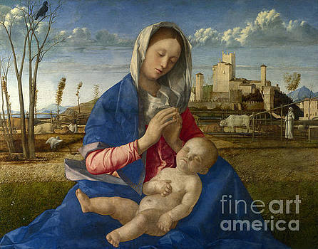 Madonna of the Meadow by Giovanni Bellini