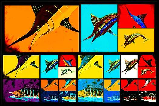 Marlin and wahoo  by Barry Knauff
