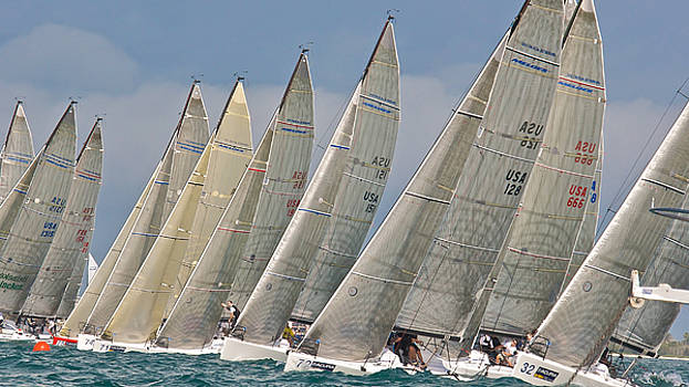 Steven Lapkin - Melges 32 at Key West