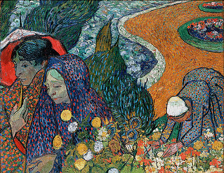 Memory Of The Garden At Etten by Vincent Van Gogh
