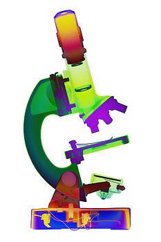 Microscope X-ray Art Photograph by Roy Livingston