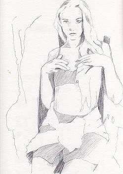 Missy - Sketch by Stephen Panoushek
