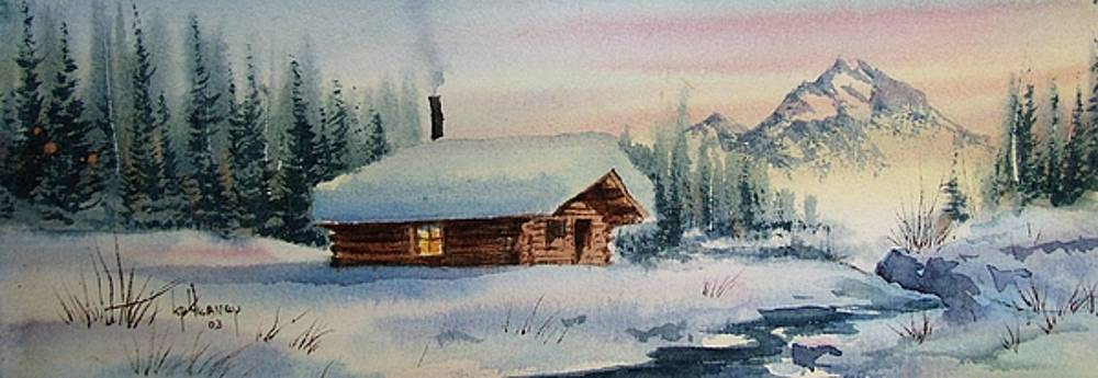 Montana Winter by Kevin Heaney