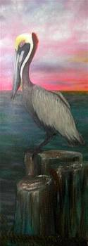Mr. Pelican by Dixie Hester