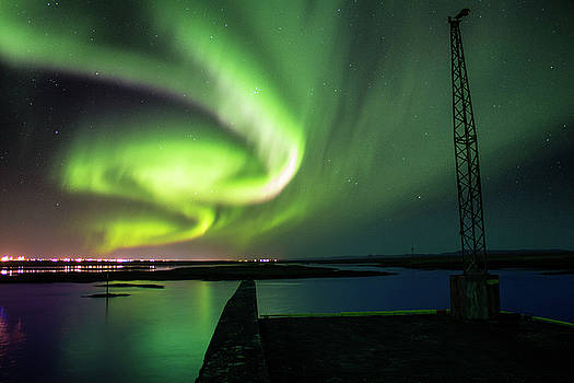 Northern lights by Kristofer Mani Axelsson