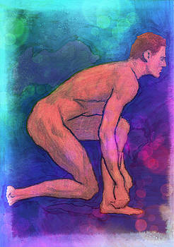 Nude Man by Svelby Art