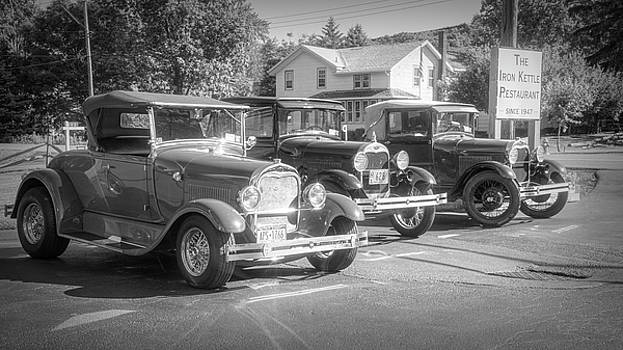 3 Old Fords by Guy Whiteley
