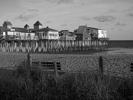 Old Orchard Beach Maine by Trace Kittrell