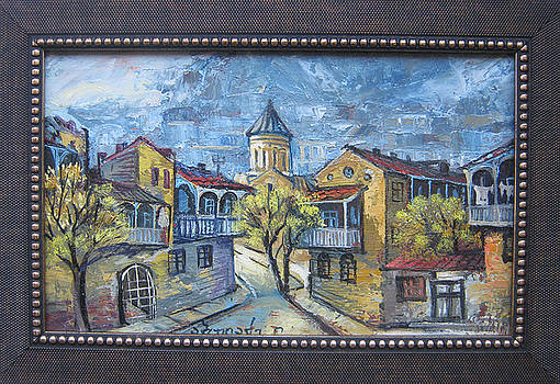 Old Tbilisi by Lado Abuladze