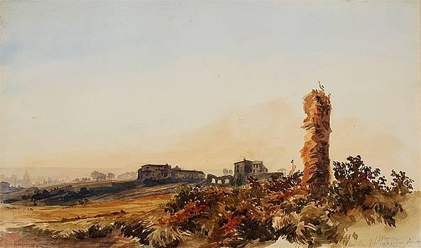 On Aventine Hill by Albert Berg