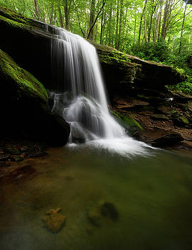 Otter Falls - Seven Devils, North Carolina by Mike Koenig