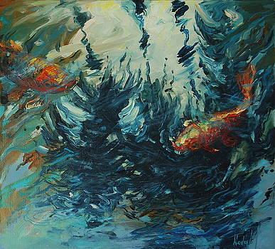 3 Palm Trees by Rick Nederlof
