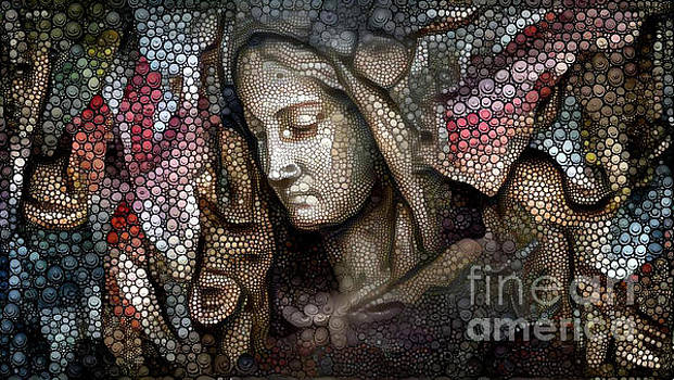 Peaceful Madonna by Amy Cicconi