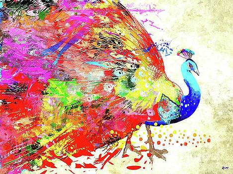Peacock by Daniel Janda