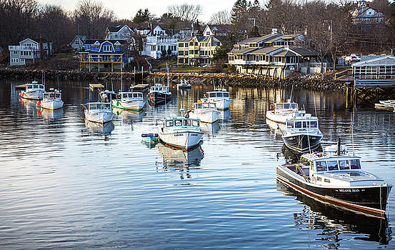 Perkins Cove by Robert Clifford