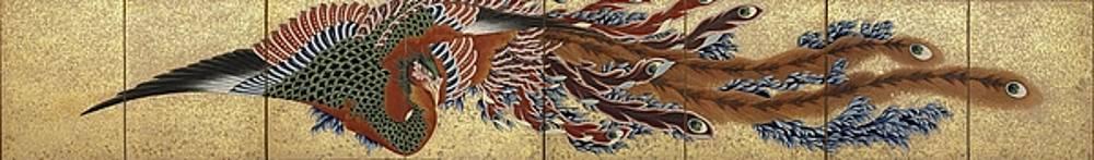 Katsushika Hokusai - Phoenix
