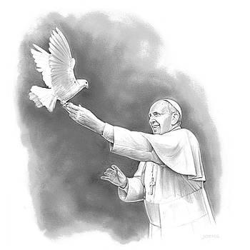 Pope Francis by Greg Joens