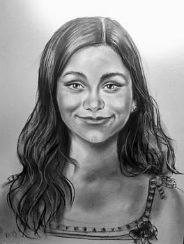Portrait of a girl by Katerina Kovatcheva