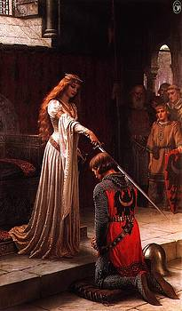 Queen Guinevere and Sir Lancelot by MotionAge Designs