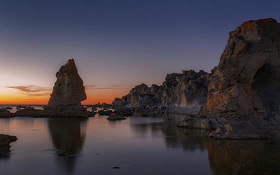 Scandinavian Night Sky by Ludwig Riml