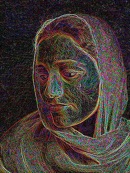 Self Portrait by Karuna Ahluwalia