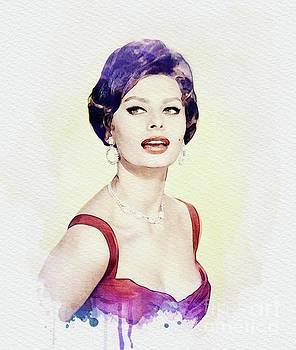 John Springfield - Sophia Loren, Vintage Actress