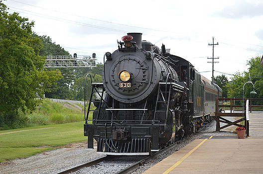 Steam Engline Number 630 by Linda Geiger