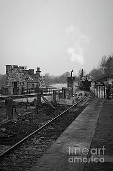 Steam Train Art by Doc Braham