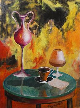 Still life by Vladimir Kezerashvili