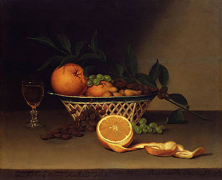 Raphaelle Peale - Still Life with Oranges