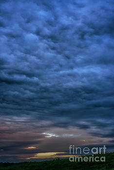 Storm Clouds at Sunset by Thomas R Fletcher