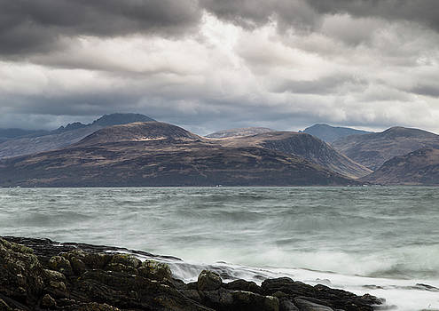 Stormy Arran by Russell Millner