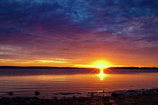 Sun going Down by Doug Long