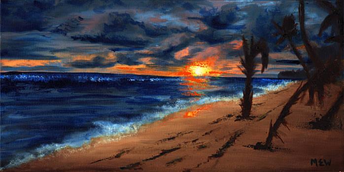 Sunset II by Megan Welcher